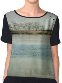 The River Of Time Chiffon Top