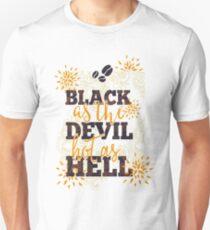Black As The Devil Unisex T-Shirt