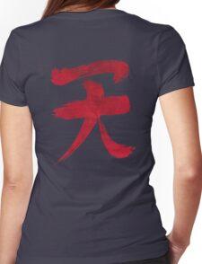 Akuma Kanji - Blood Edition Womens Fitted T-Shirt
