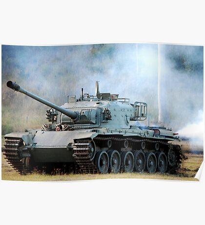 Centurion Main Battle Tank Poster