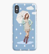 SNSD Yoona umbrella iPhone Case/Skin