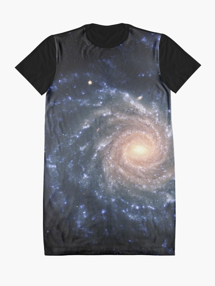 Alternative Ansicht von Galaxis T-Shirt Kleid