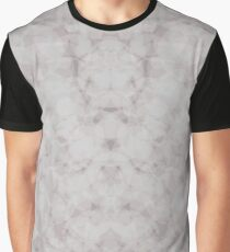 Abstract Print Similar to marble Graphic T-Shirt