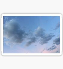 Cloudy Sticker