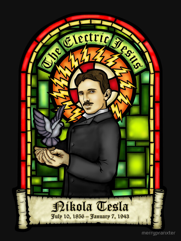 Tesla: The Electric Jesus by merrypranxter