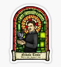 Tesla: The Electric Jesus Sticker