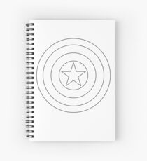 Spangle Your Stars Minimalist Ring Design Spiral Notebook