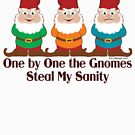 One By One The Gnomes by ironydesigns