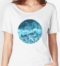 Sea wave Women's Relaxed Fit T-Shirt