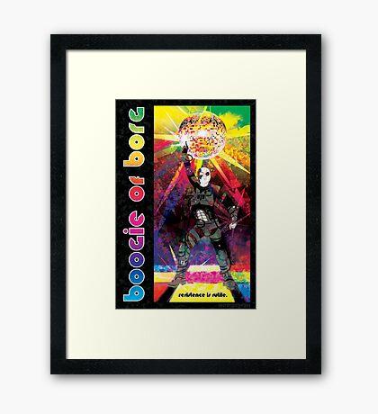 Borg Boogaloo Framed Print
