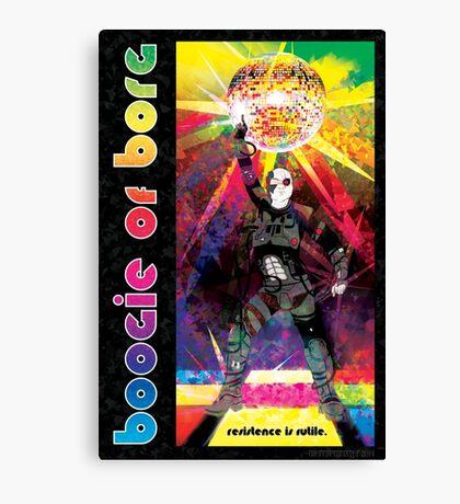 Borg Boogaloo Canvas Print