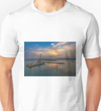 Lymington River Sunset Unisex T-Shirt