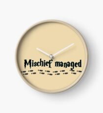 Mischief managed Clock