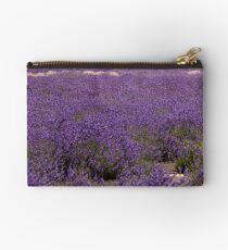Girl in field of lavender Studio Pouch