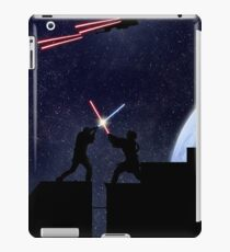 Lightsaber fight iPad Case/Skin