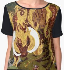The Last Unicorn Women's Chiffon Top