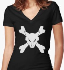 Marowak Women's Fitted V-Neck T-Shirt
