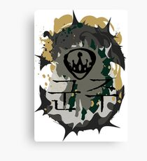 Overlord Transparent Canvas Print