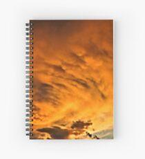 Fireburst  Spiral Notebook