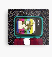 Fernsehen!! Metallbild