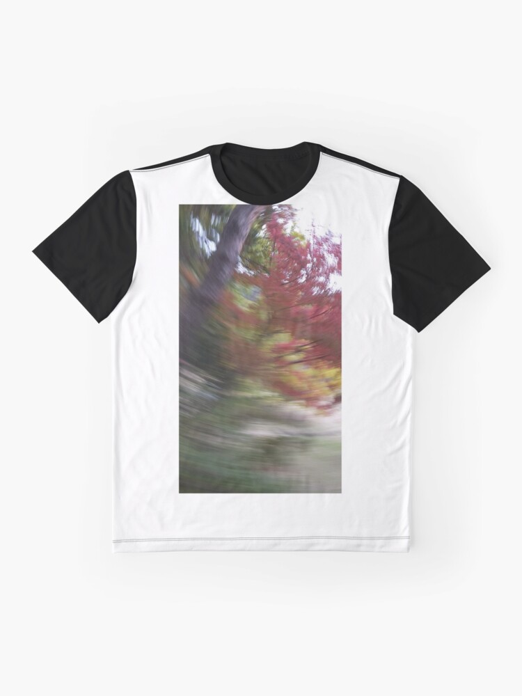 Alternate view of autumn swirl Graphic T-Shirt