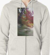autumn swirl Zipped Hoodie