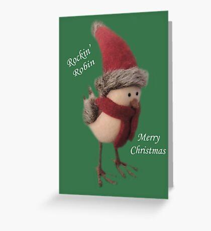 Rockin' Robin Greeting Card