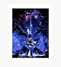 Aqua's Hope - Kingdom Hearts Impression artistique