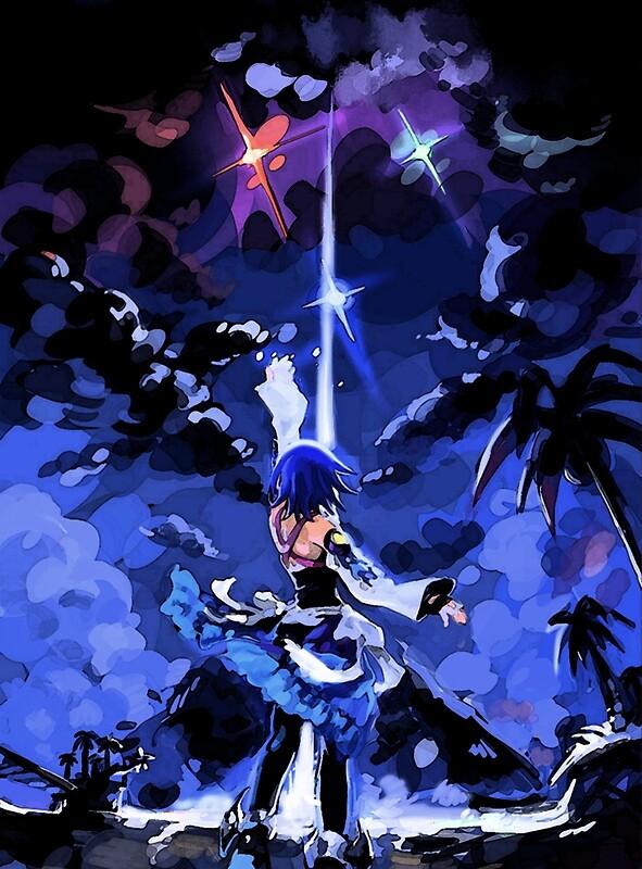 Aqua Kingdom Hearts Posters Redbubble