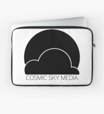 Cosmic Sky Media Logo (Black) Laptop Sleeve
