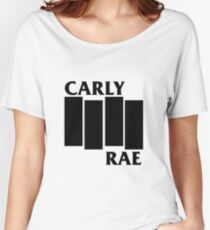 Carly Rae Black Flag Women's Relaxed Fit T-Shirt