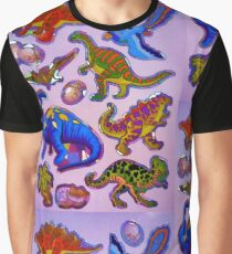 Several colorful dinosaurs Graphic T-Shirt