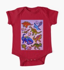 Several colorful dinosaurs Kids Clothes