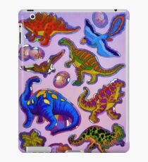 Several colorful dinosaurs iPad Case/Skin