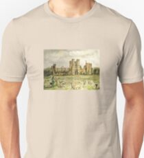 Plein Air Painting At Cowdray House Ruins Sussex Unisex T-Shirt