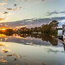 Ps Industry at Sunrise by Dave  Hartley