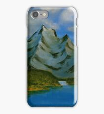 Three Peaks Island iPhone Case/Skin
