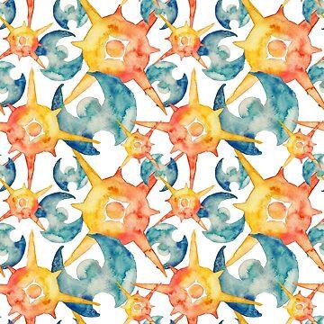 Pokemon Sun&Moon pattern by navigata