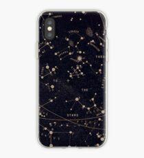 Vinilo o funda para iPhone constelaciones espaciales