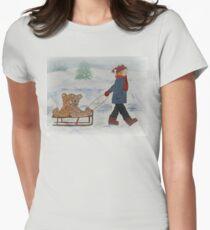 Bear, Girl and Her Teddy Bears T-Shirt