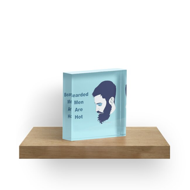 Cute Bearded Man by Vilela Valentin