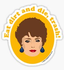 Blanche Devereaux from The Golden Girls Sticker