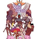 Knight and Beard - Group Pose! by knightandbeard