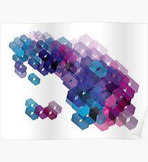 3D-blocks Poster
