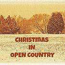 """CHRISTMAS IN OPEN COUNTRY""""... Christmas Card by Bob Hall©"""