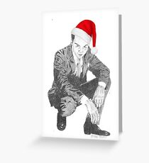 Andrew Scott as a Merry Moriarty Greeting Card