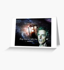 Somewhere...  (Dr. Who) Greeting Card