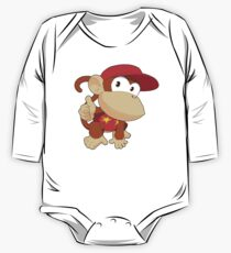 Super Smash Bros. Diddy Kong One Piece - Long Sleeve