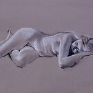 Nude - Life drawing 2012 by Simon Groves