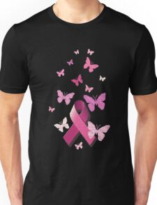 Breast Cancer Pink Awareness Ribbon Unisex T-Shirt